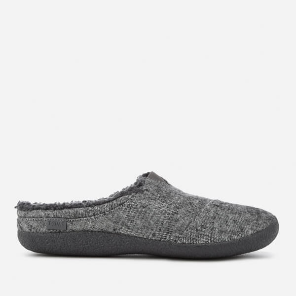 122d027b2bf TOMS Men s Berkeley Slub Textile Slippers - Grey