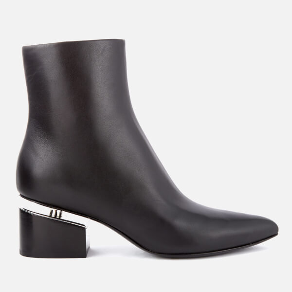 Alexander Wang Women's Jude Leather Heeled Ankle Boots - - UK 3 Ho4yej23Q