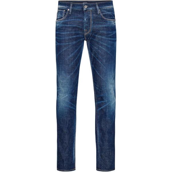 Jack & Jones Men's Originals Clark 566 Regular Fit Jeans - Blue Denim