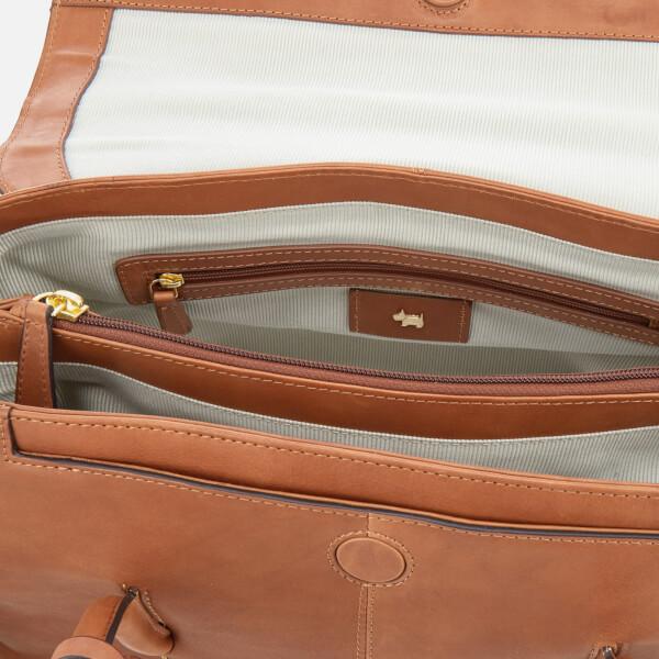 29ea88e9e117 Radley Women's Burnham Beecheslarge Flapover Shoulder Bag - Cognac: Image 5