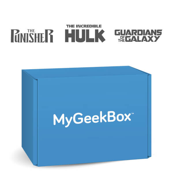 My Geek Box April Mega Box - Marvellous