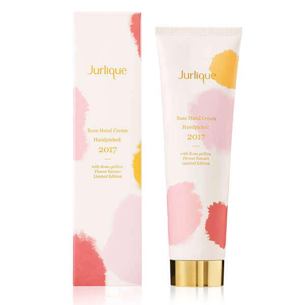 Jurlique Rose Handpicked 2017 Hand Cream with Rosa Gallica Flower Extract 75ml (Limited Edition)