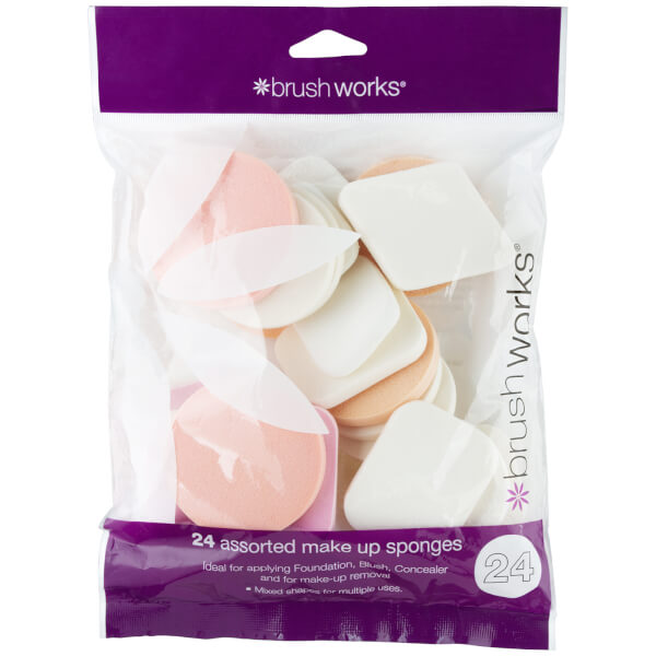 brushworks Assorted Make Up Sponges