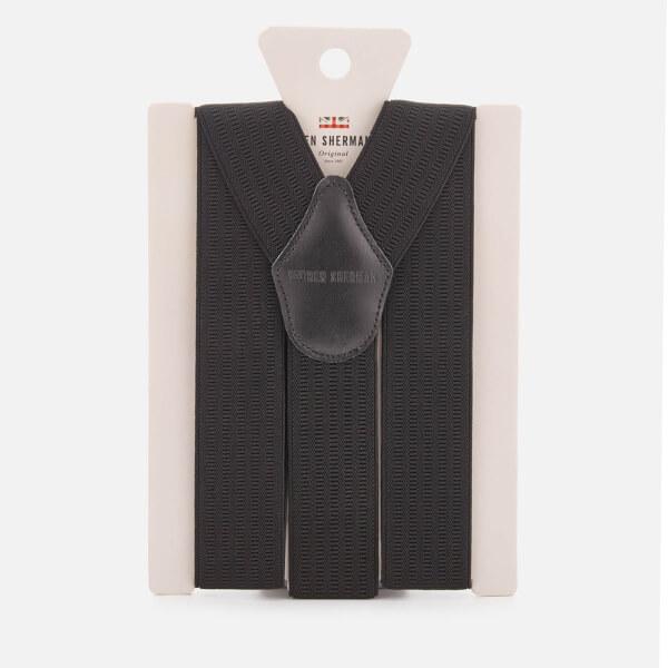 Ben Sherman Men's Marylebone Braces - Black - One Size