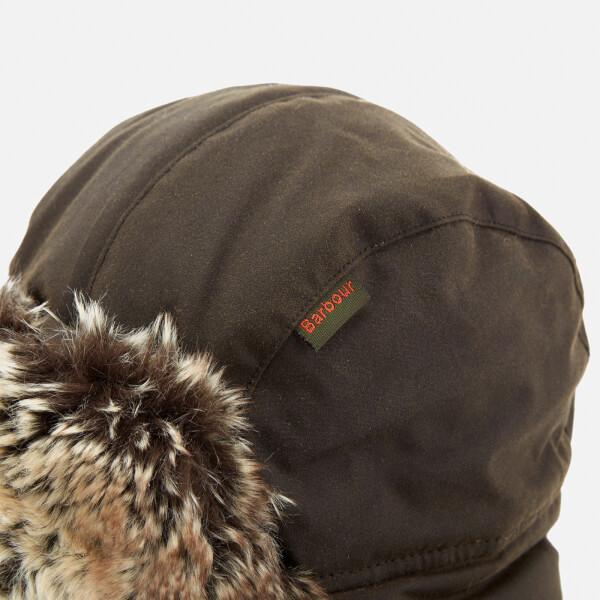40d5968a59f Barbour Men s Hardwick Fur Trapper Hat - Olive  Image 4