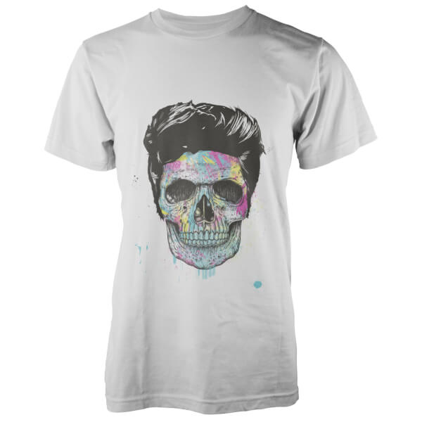 T-Shirt Colour Your Death Solti -Blanc