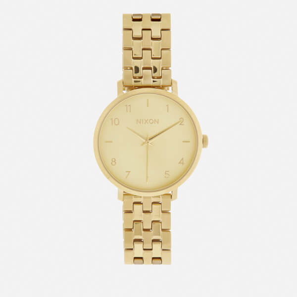 Nixon Women's The Arrow Watch - All Gold