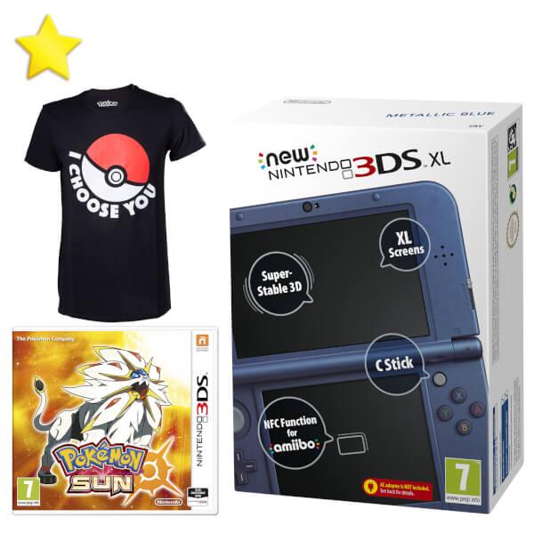 New Nintendo 3DS XL Pokémon Trainer Pack