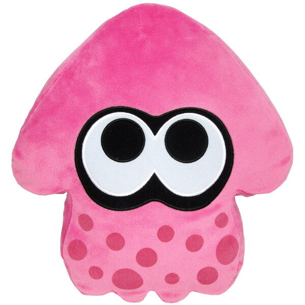 Splatoon Inkling Squid Cushion (Pink)