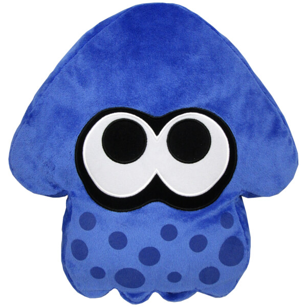 Splatoon Inkling Squid Cushion (Blue)