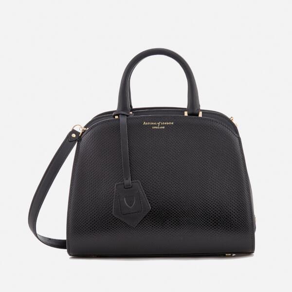 Aspinal of London Women's Mini Hepburn Bag - Jet Black