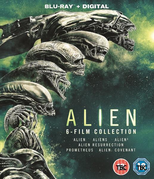 Alien 1-6 Boxset