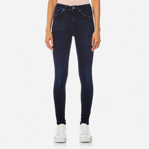 Maison Scotch Women's Haute High Rise Skinny Jeans - Indigo