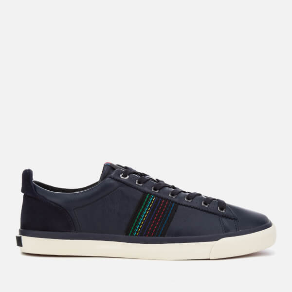 PS Paul Smith Men's Seppo Leather Cupsole Trainers - Navy