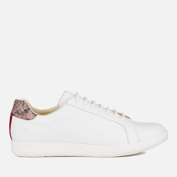 7e328a407e25 PS by Paul Smith Women's Lapin Star Embossed Trainers - White | FREE ...