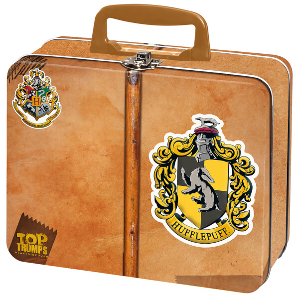 Top Trumps Collector's Tin - Harry Potter Hufflepuff 60 Card Tin