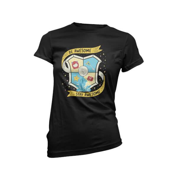 Blue Guild Women's Black T-Shirt