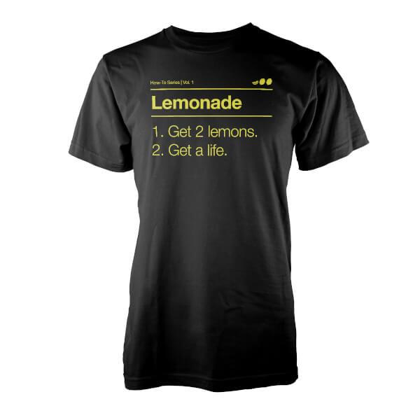 T-Shirt Lemonade Vo Maria -Noir