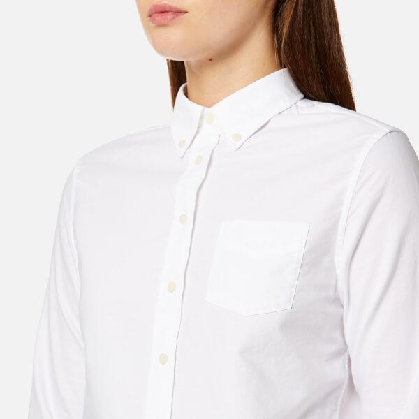 Gant Women 39 S Perfect Oxford Shirt White Womens Clothing