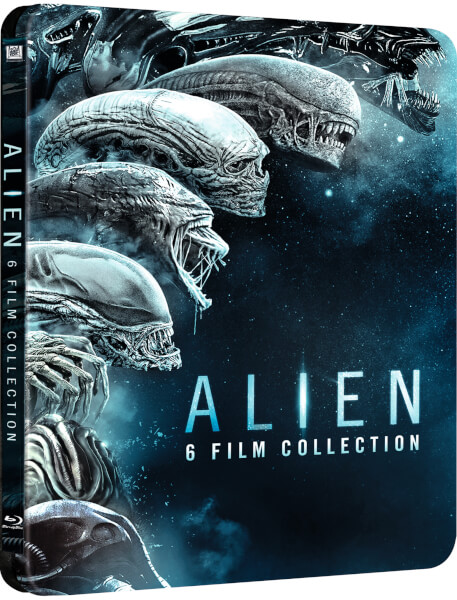 Alien 1-6 - Zavvi Exclusive Limited Edition Steelbook
