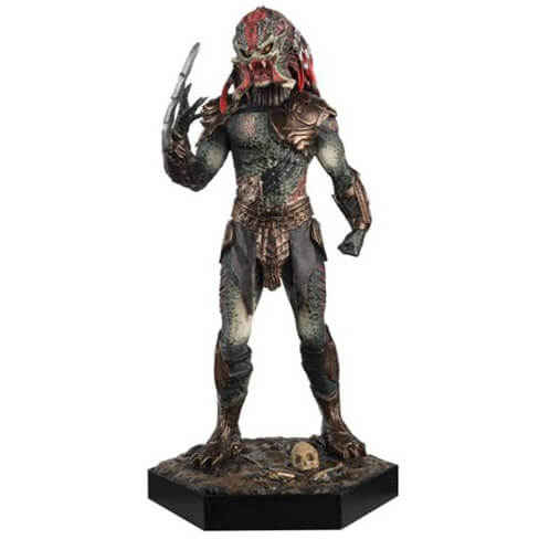Figurine Alien Predator Eaglemoss Publications Berseker + Magazine #9