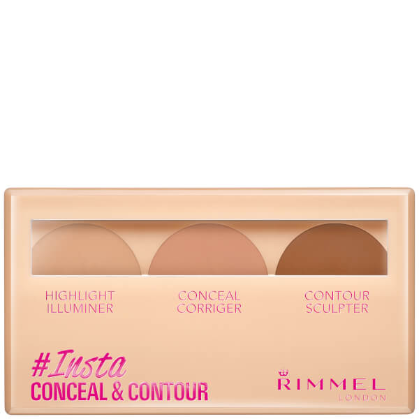 Rimmel Insta Conceal and Contour Palette 7g (Various Shades)