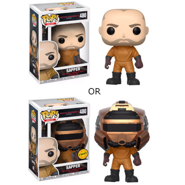 Blade Runner 2049 Sapper with Chase Pop! Vinyl Figure