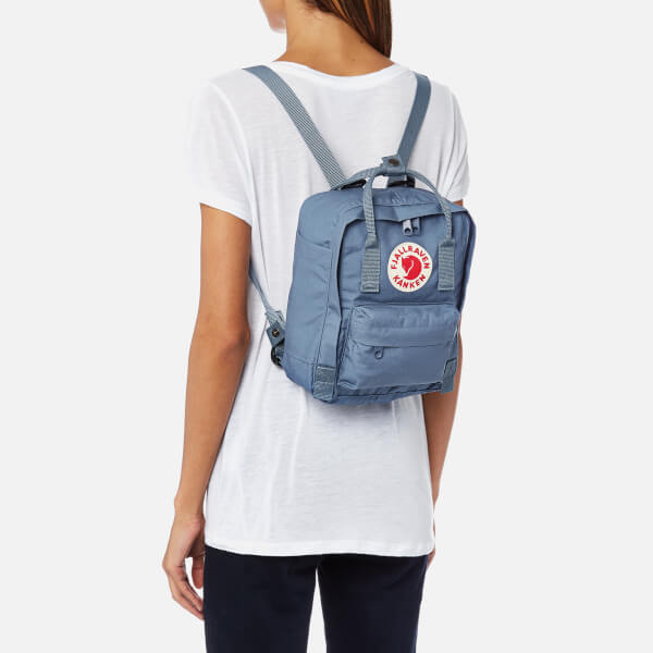 cbb22f91342 Fjallraven Kanken Mini Backpack - Blue Ridge: Image 3