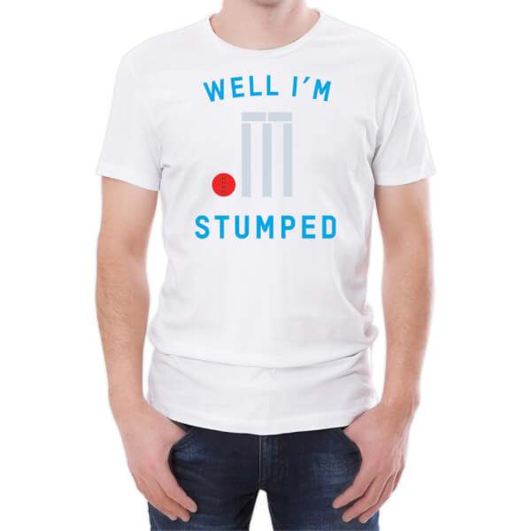 Well I'm Stumped Men's White T-Shirt