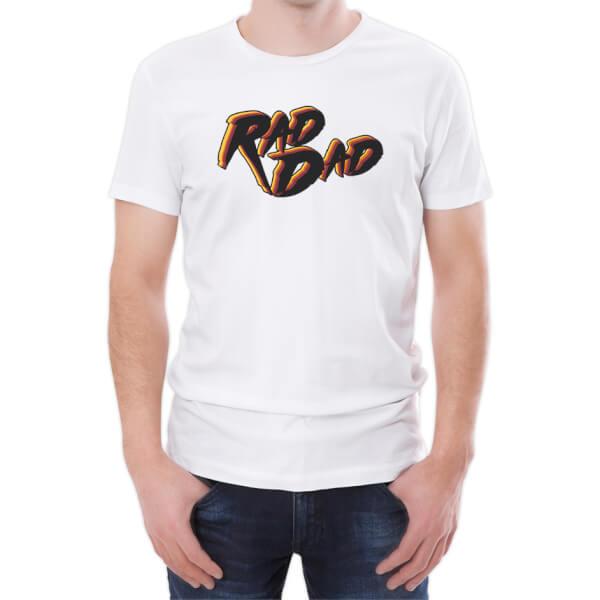 Rad Dad Men's White T-Shirt