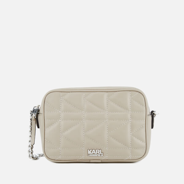 Karl Lagerfeld Women's K/Kuilted Cross Body Bag - Earth