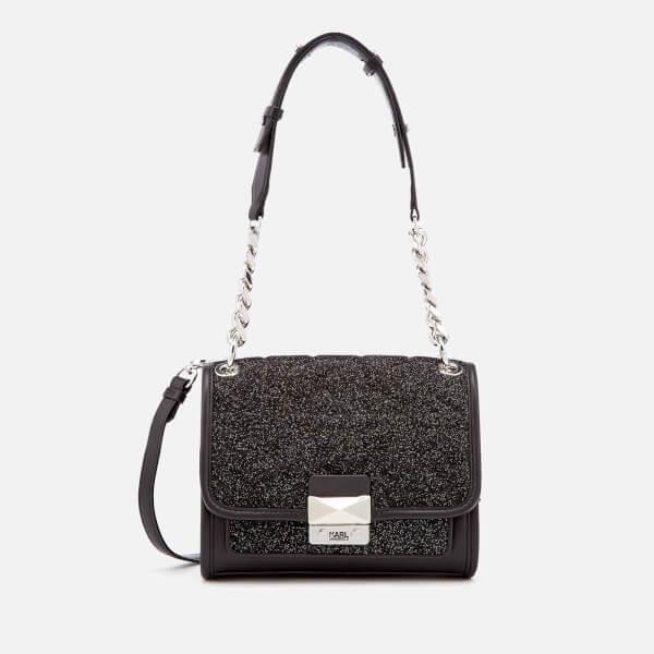 Karl Lagerfeld Women's K/Kuilted Caviar Mini Handbag - Multi