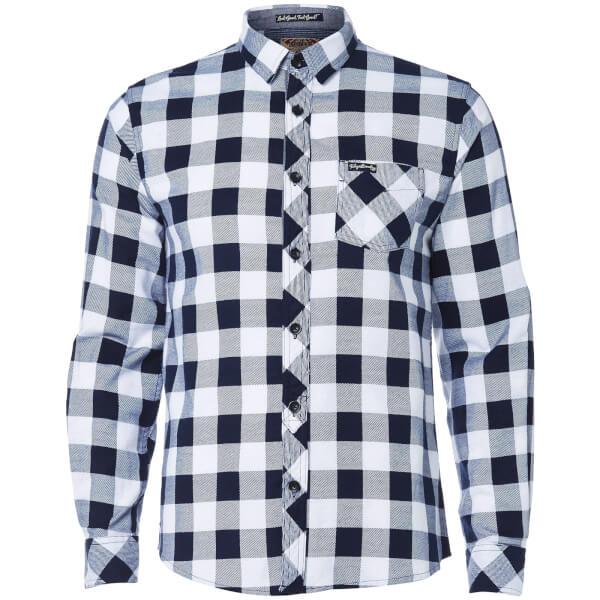 Tokyo Laundry Men's Alhambra Flannel Long Sleeve Shirt - White