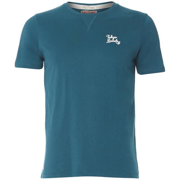 Tokyo Laundry Men's Hemsby Jersey T-Shirt - Tokyo Teal