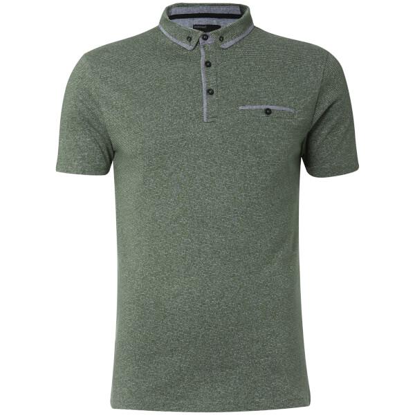 Dissident Men's Herald Polo Shirt - Thyme Fleck