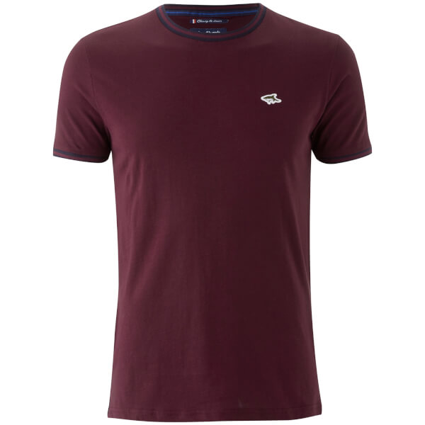 T-Shirt Homme Holton Le Shark - Bordeaux