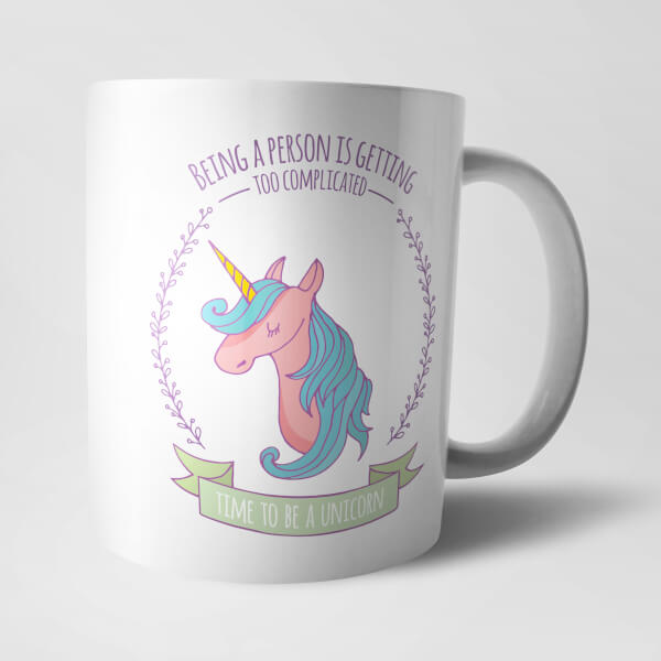 Time to be a Unicorn Mug