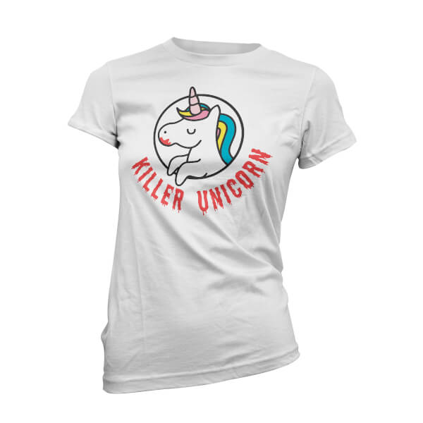 Killer Unicorn Frauen T-Shirt - Weiß
