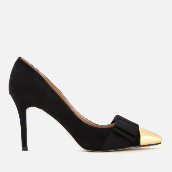 Miss KG Women's Alyssa Bow Court Shoes - Black