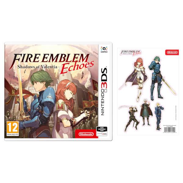 Fire Emblem Echoes: Shadows of Valentia + Sticker Sheet