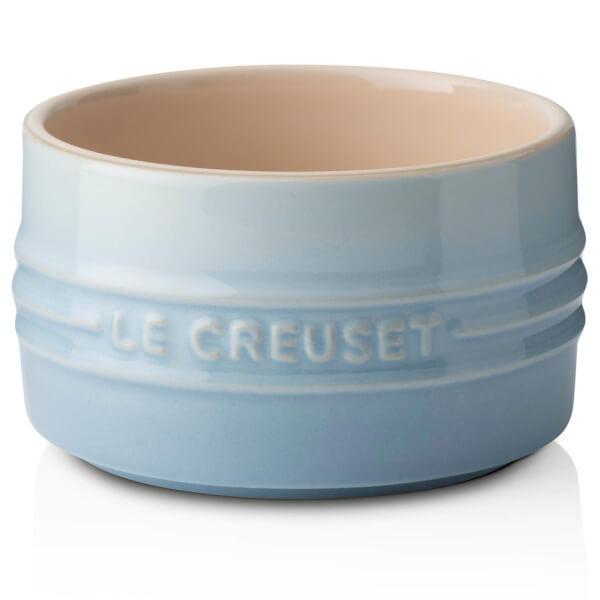 Le Creuset Stoneware Stackable Ramekin - Coastal Blue