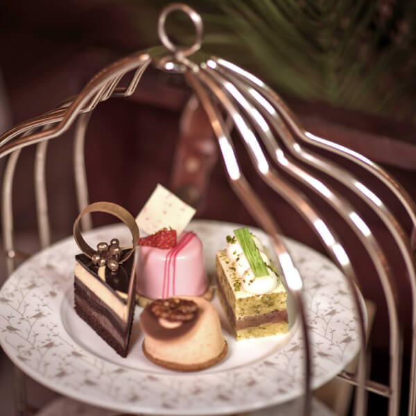 Bird Cage Afternoon Tea for Two at Park Lane Hotel in Mayfair