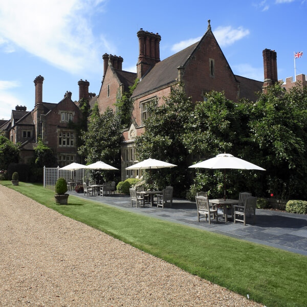 Champagne Afternoon Tea for Two at Alexander House and Utopia Spa, West Sussex