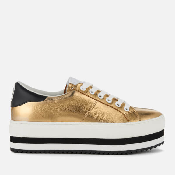 Marc Jacobs Women's Grand Leather Platform Trainers - - UK 7 g65lRXy