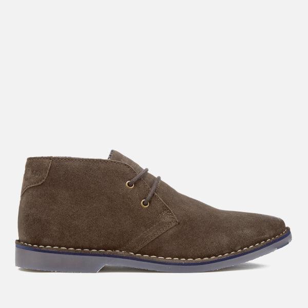 Superdry Men's Winter Rallie Suede Desert Boots - Dark Brown
