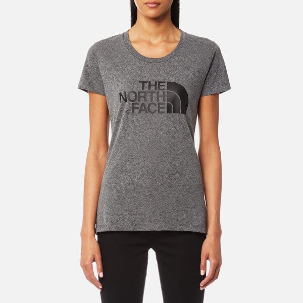 The North Face Women's Short Sleeve Easy T-Shirt - TNF Medium Grey Heather