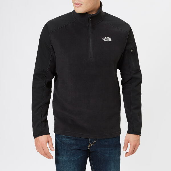 The North Face Men's Glacier Delta 1/4 Zip Fleece Jumper - TNF Black