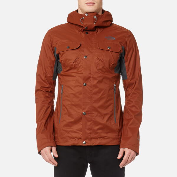 6a7d8a375887 ... ireland the north face mens arrano jacket brandy brown asphalt grey  image 1 5bfba d23ab