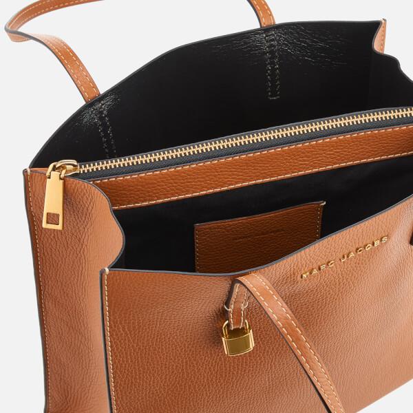 ebbc1cdf0e65 Marc Jacobs Women s The Grind Shopper Bag - Saddle  Image 5