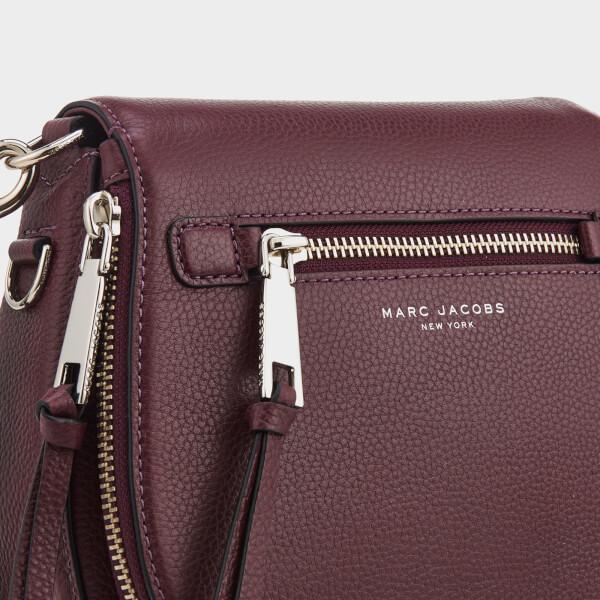 Marc Jacobs Women s Recruit Small Nomad Shoulder Bag - Blackberry  Image 4 34f6ea7a5